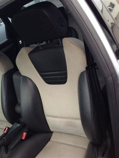 sell audi   recaro seats   tone black leather grey