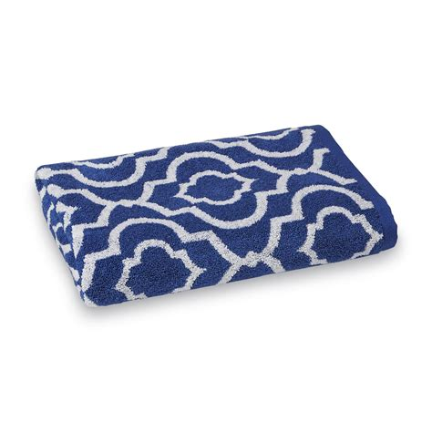 colormate quatrefoil bath towel home bed bath bath