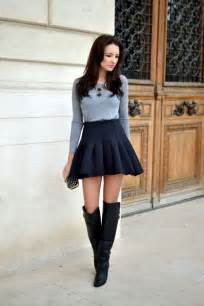 40 beautiful examples of girls in short skirts fashion 2015