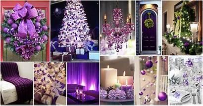Purple Christmas Decoration Decor Royal Celebration Stunning