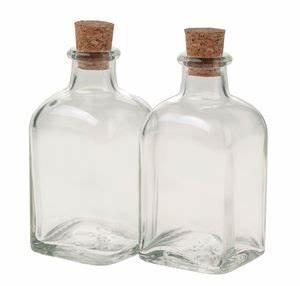 Glasflasche Mit Stöpsel : glasflasche 4 st ck klein mit korkstopfen 100ml opitec ~ Watch28wear.com Haus und Dekorationen