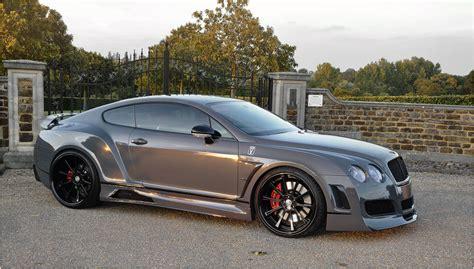 custom bentley coupe gt premier  wide body kit vad