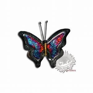 Papillon Décoration Murale : d coration d 39 int rieur murale papillon artisanal m tal ~ Teatrodelosmanantiales.com Idées de Décoration