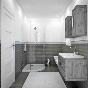 Exemple Salle De Bain : salle de bain de 6m2 salle de bain moderne tunisie ~ Dailycaller-alerts.com Idées de Décoration