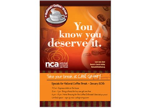 They are listed on the left below. Bodden Partners » National Coffee Association
