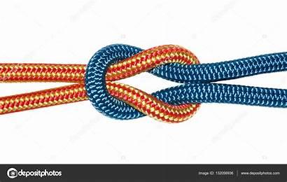 Reef Knot Yellow Ropes Depositphotos