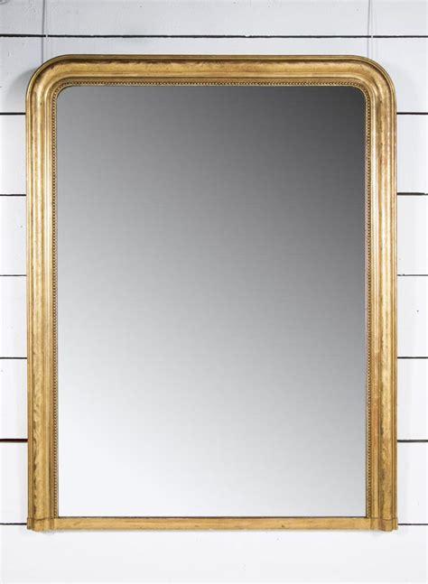 miroir de cheminée grand miroir de chemin 233 e en bois dor 233 h 170 l 132 pascal