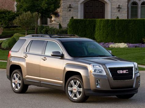 gmc terrain crossover suv road test  review