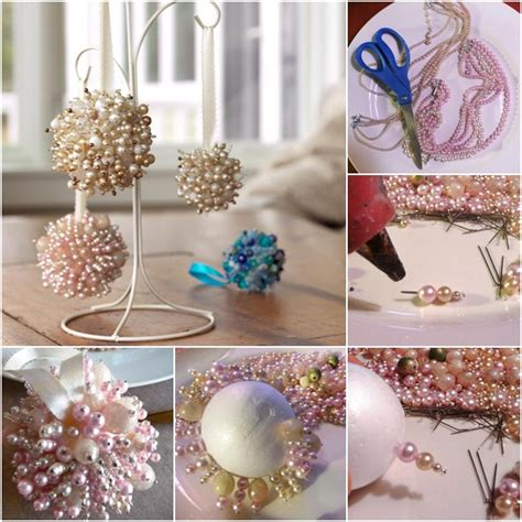homemade christmas tree ornaments 20 easy diy ideas