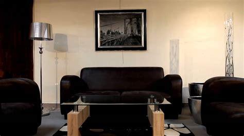 ensemble canape fauteuil ensemble canapé et fauteuil tissu gris foncé modèle