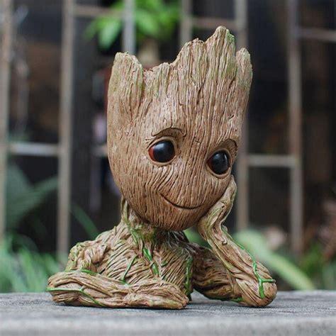 ผู้ปกครองของ Galaxy Avengers Action Figure ของเล่นกระถางดอกไม้เด็กต้นไม้ Macetero ปากกากระถาง ...