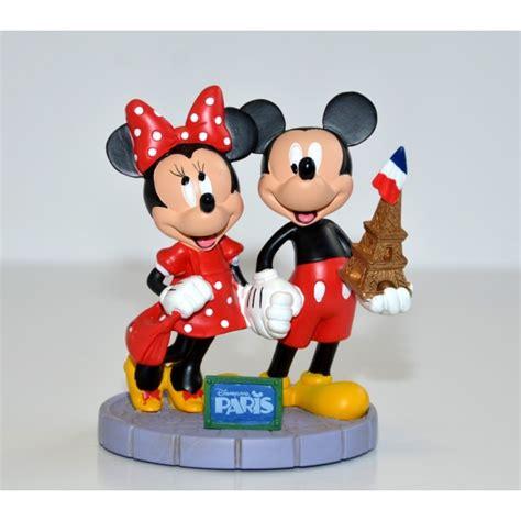 Disneyland Paris Mickey and Minnie Eiffel Tower Figurine