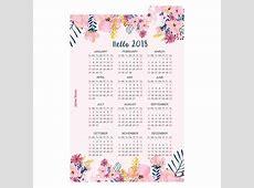 Aliexpresscom Buy A5 A6 1 sheeet 2018 PP Calendar