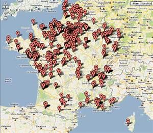 Carte Station Service : quelles stations service sont vides la carte interactive de la p nurie d 39 essence blog du ~ Medecine-chirurgie-esthetiques.com Avis de Voitures