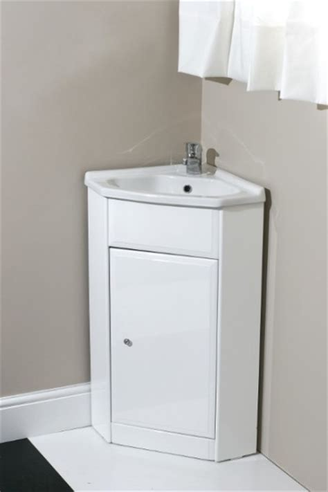 corner sink and vanity corner vanity unit with tap and waste contemporary