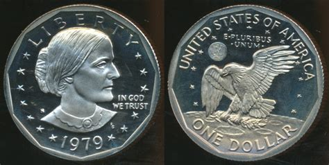 1979 one dollar coin united states 1979 s one dollar susan b anthony type 1 proof