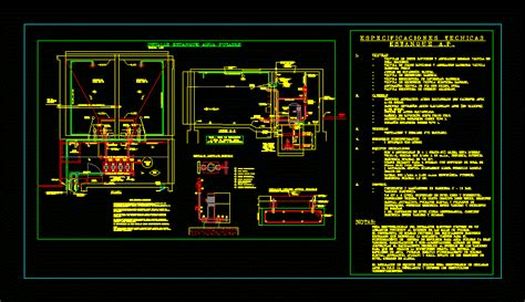 pond water dwg full project  autocad designs cad