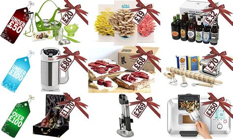 the best christmas gifts for foodies for 2015 revealed by