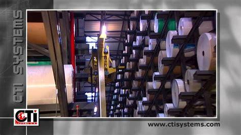 high storage warehouse  agvs   label manufacturing industry youtube