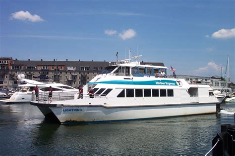 Ferry Boat From Quincy To Boston by Massachusetts Bay Transportation Authority