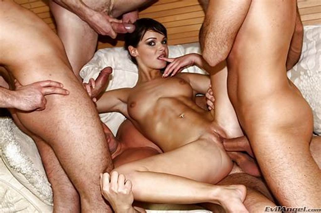 #Milf #Jenny #Baby #Gets #Fucked #In #Gangbang #With #Three #Guys
