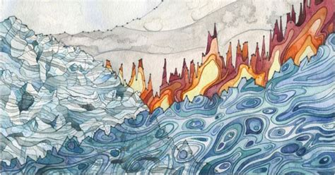 jill peltos watercolors illustrate  strange beauty