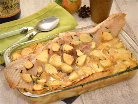 cuisine aile de raie au four recettes de raie et poisson