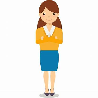 Manager Clipart Female Transparent Webstockreview