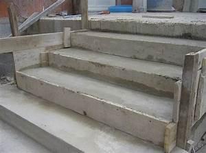 Construire Un Escalier Extérieur : construction d 39 un escalier en b ton ~ Melissatoandfro.com Idées de Décoration