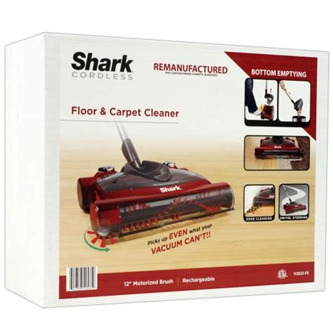 shark rechargeable floor and carpet sweeper v1950 shark v2022 cordless floor sweeper factory serviced