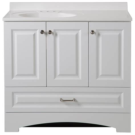 home depot bathroom sink tops glacier bay lancaster 36 in vanity and vanity top in