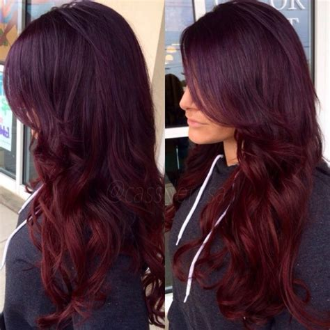 4vr hair color paul mitchell 4vr on top with pravana purple overlay and