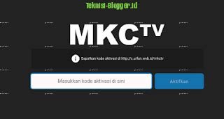Kali ini kami akan membagikan aplikasi mkctv apk terbaru untuk android dan laptop (pc). Download MKCTV Apk Gratis Disini - Teknisi Blogger