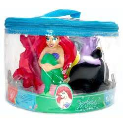 disney parks little mermaid bath toys set of 4 disney