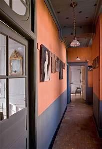 Peindre Couloir Deux Couleurs : les 30 meilleures images propos de id e d co pour une entr e sur pinterest rayures entr e ~ Preciouscoupons.com Idées de Décoration