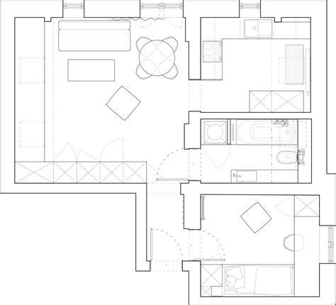 beautiful attic apartment  clever design features