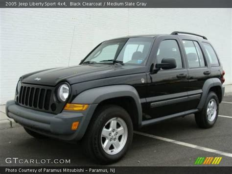 black jeep liberty interior black clearcoat 2005 jeep liberty sport 4x4 medium