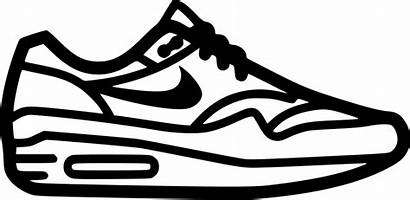 Nike Shoe Icon Airmax Svg Eps Cdr