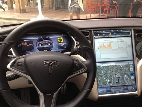 Car Computer by Tesla Model S Impressions Of In Car Computer System