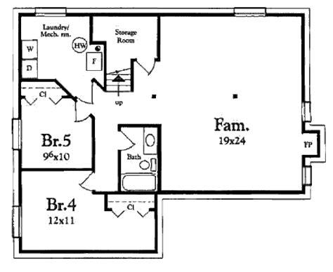 3 Beds 1 Baths 1200 Sq/ft Plan