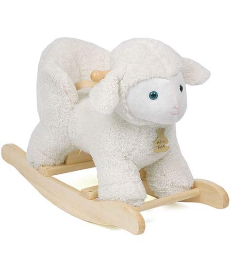 siege musique agneau à bascule avec siège et musique chez doudou shop com