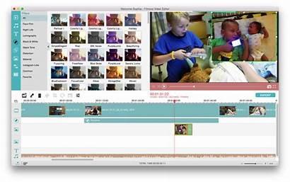 Filmora Editor Timeline Editing Effects Classic Imovie