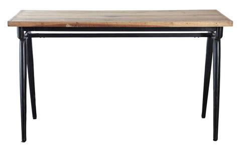 bureau style industriel en m騁al et bois table bureau table bureau b ro combi 2 l mm aspet achat table bureau en ch ne u ethnicraft mobilier table bureau rectangulaire morphea avec