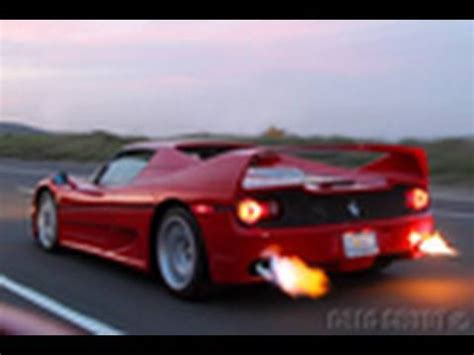 Ferrari F50 Shooting Flamespreview Video Youtube
