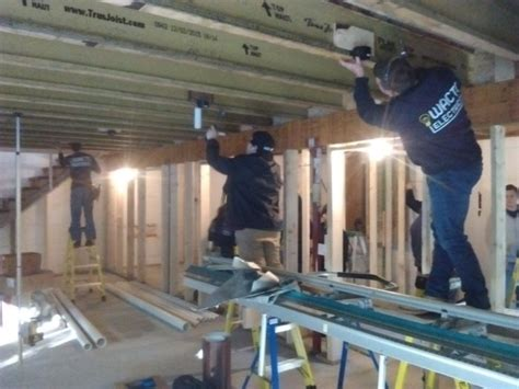 Electric Students Wire The Prohome Basement Fine