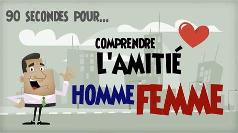 Amitié Homme Femme Citation L Amiti 233 Homme Femme En 90 Secondes Aborde Une Fille