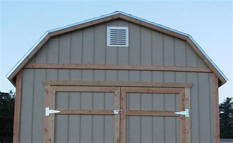 my stinks and sheds a lot outdoor shed ventilation
