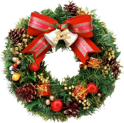 christmas wreath png clipart png mart
