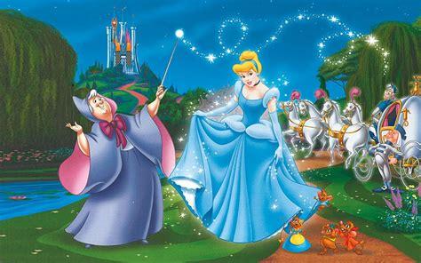 princess cinderella castle fairy godmother magic wand
