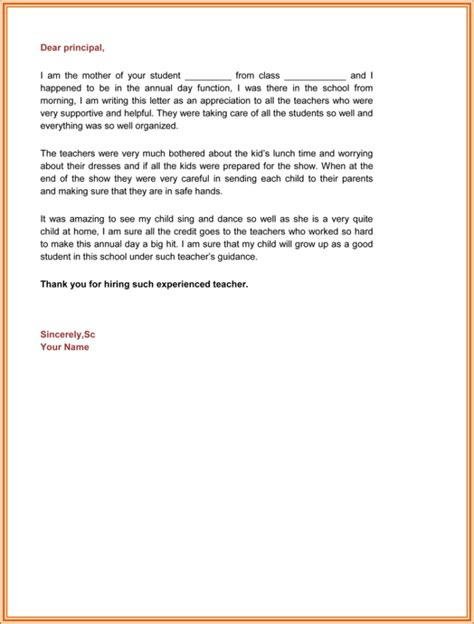 appreciation letter samples  email examples